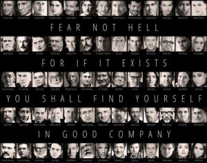 Atheists - Good company