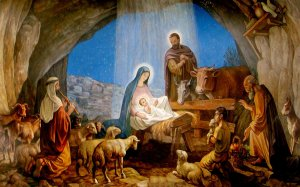 Christmas - nativity scene