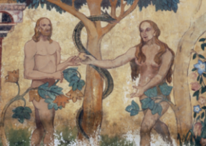 Adam and Eve and Serpent