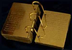 Mormon Gold plates