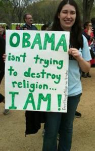 Jen McCreight - Obama isn't trying to destroy religion, I am