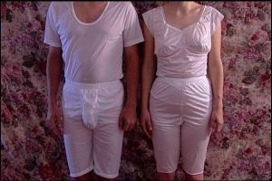 "Mormon underwear  or ""garments""- Two piece"