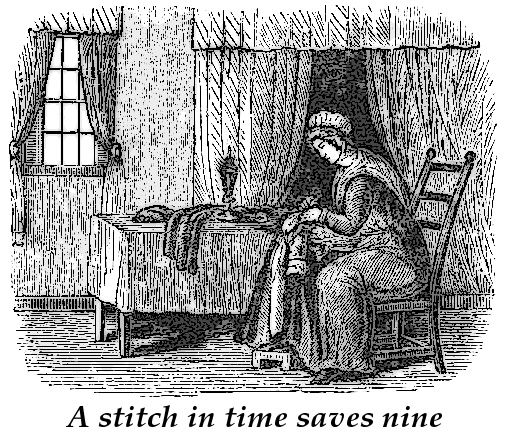 Doxy - Narrative essay on a stitch in time saves nine - kxucastro.2fh ...