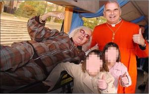 Cardinal Keith O-Brien with Pedophile Saville
