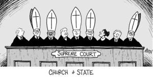 Catholic Supreme Court Cartoon