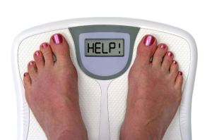 Weight loss - Scale with Help