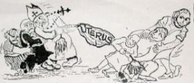 Uterus tug of war