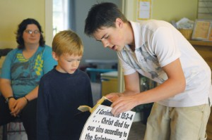 CEF Child evangelizing child