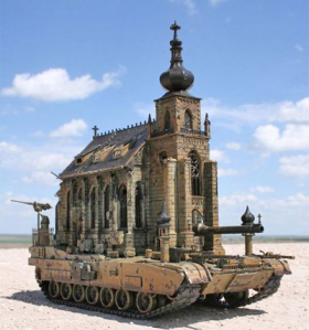 Holy War - Church on Tank
