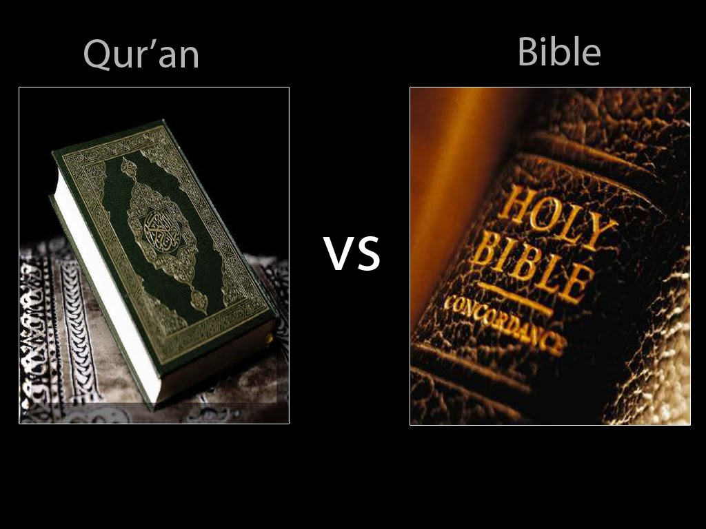 bible vs koran essay Are judaism and christianity as violent as islam by raymond ibrahim middle east quarterly summer 2009, pp 3-12 the bible contains far more verses praising or urging bloodshed than does the koran, and biblical violence is often far more extreme.