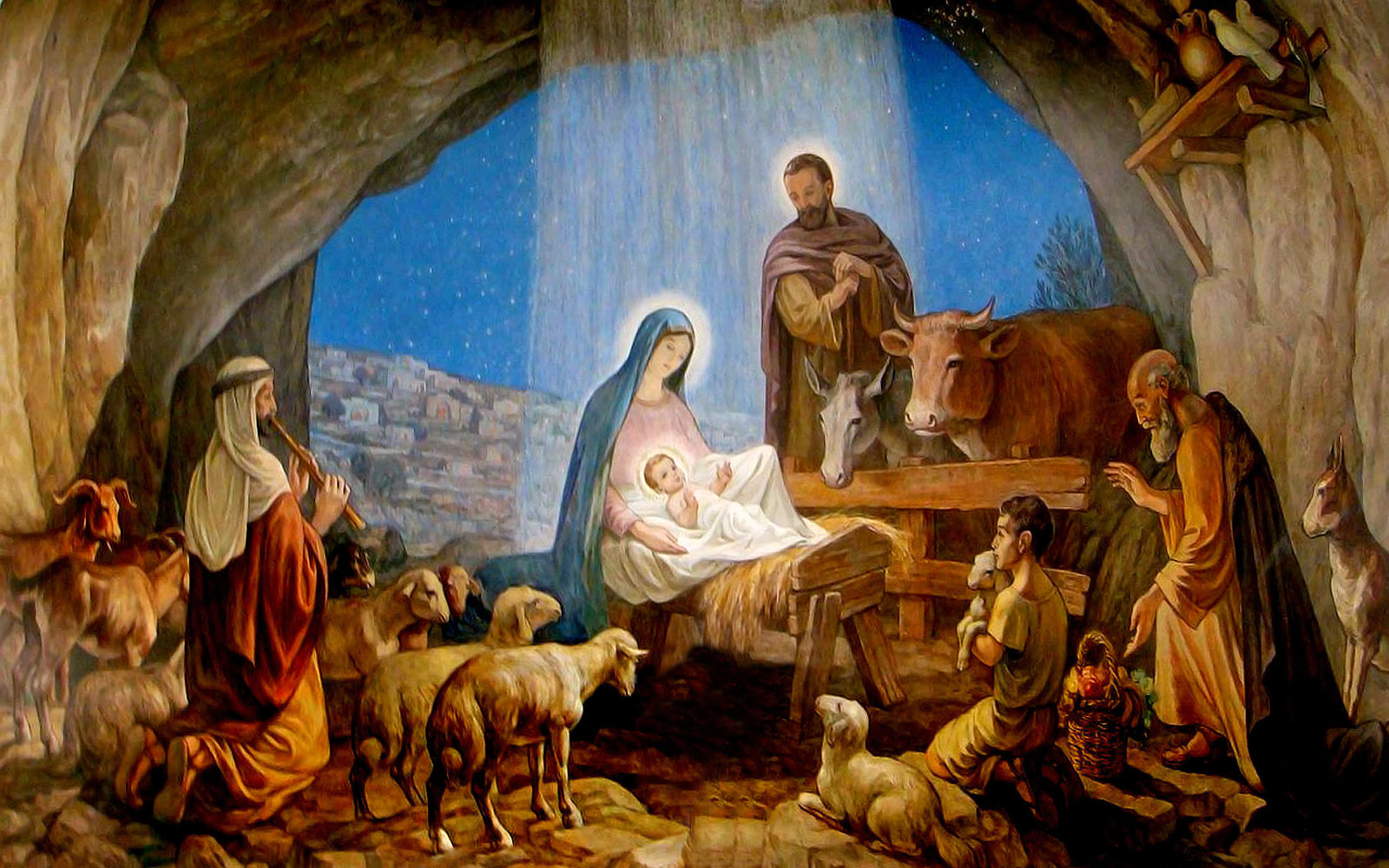 The Not So Virgin Birth Of Christmas Story