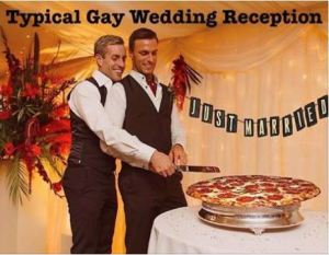 Indiana RFRA - Typical Gay Wedding Reception