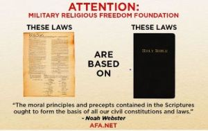MRFF - AFA - Constitution based on Bible