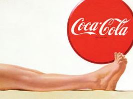 Cola-Cola and legs