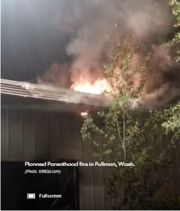 Planned Parenthood arson