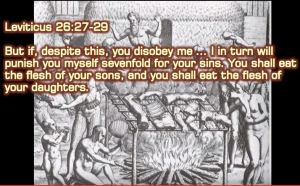 Biblical terrors - cannibalism