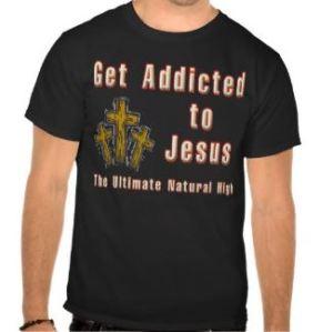 addicted-to-jesus-t-shirt