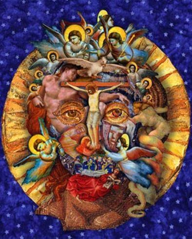 mythical Jesus mandala