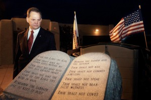 Roy Moore 10 Commandments